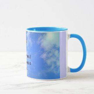 wish I was a kite. Mug