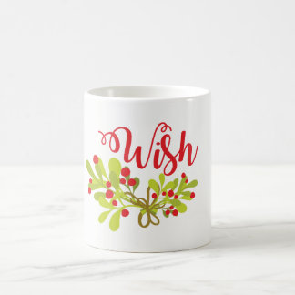 Wish Merry And Bright On Holiday Mug