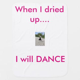 Wish to Dance line, infantil Baby Blanket