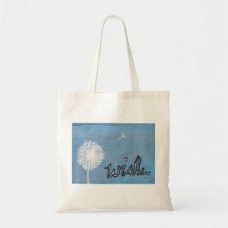 wish canvas bag