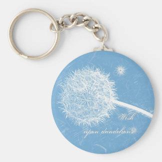 Wish upon a dandelion key ring