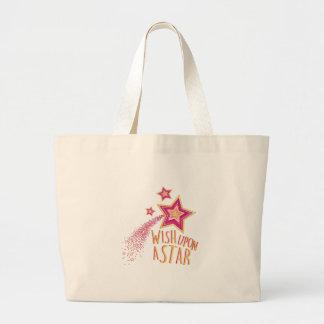 Wish Upon Star Jumbo Tote Bag