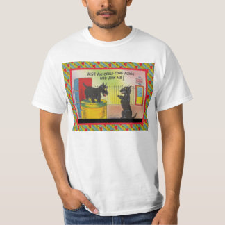 Wish you could come along and join me t shirts