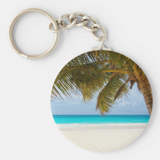 Wish you were here! basic round button key ring