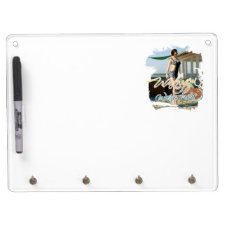 Wish You Were Here Belle Dry Erase White Board