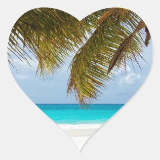 Wish you were here! heart sticker