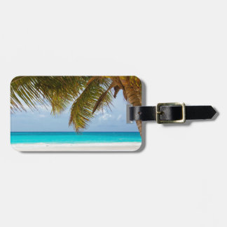 Wish you were here! luggage tag