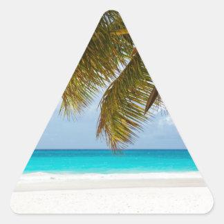 Wish you were here! triangle sticker