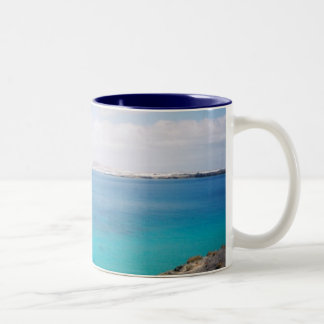 Wish you were here! Two-Tone mug