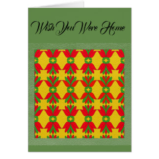 Wish You Were Home Holiday Card