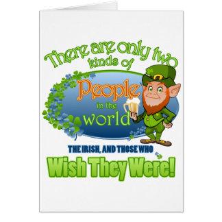 Wish You Were Irish (Ver 2) Card
