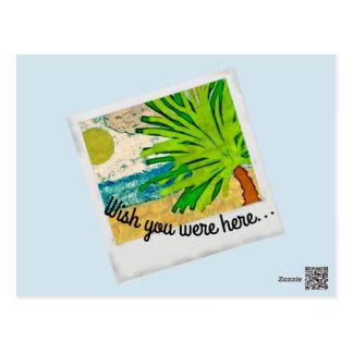 wish you were postcard