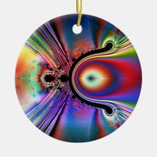 Wishbone Fusion Round Ceramic Decoration