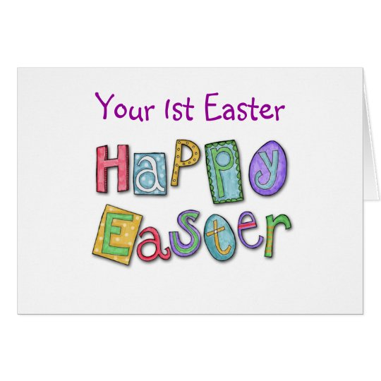 WISHES 1st EASTER BY THE BASKETFUL Card