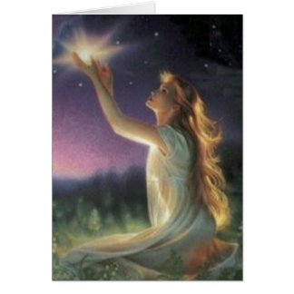 Wishes Amongst The Stars Greeting Card