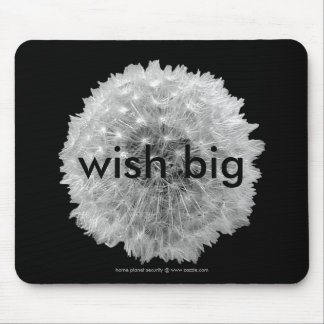 Wishes are Dandy Mouse Mat