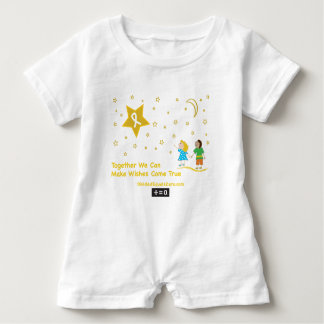 Wishes-Childhood Cancer Awareness Baby Bodysuit
