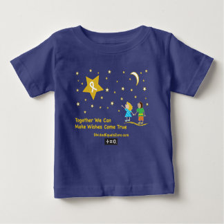 Wishes-Childhood Cancer Awareness Baby T-Shirt