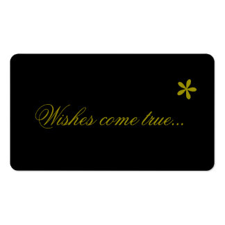 Wishes come true, Business Cards