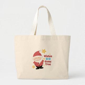 Wishes Come True Jumbo Tote Bag