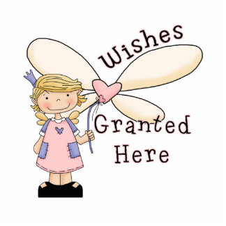 Wishes Granted Fairy Godmother Photo Sculpture Decoration