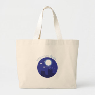 Wishes Made Of Dreams Canvas Bag