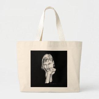 Wishful thinking jumbo tote bag