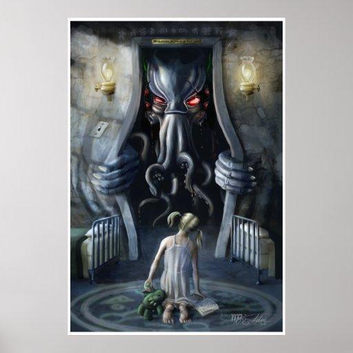 Wishful Thinking v2 : Cthulhu Entering Our World Poster