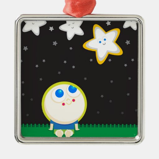 Wishing and Hoping Christmas Ornaments