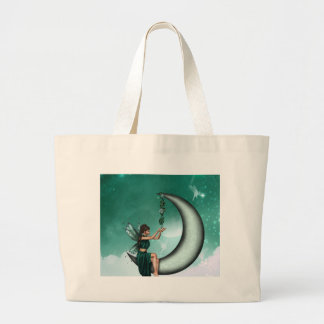 Wishing Moon Canvas Bag