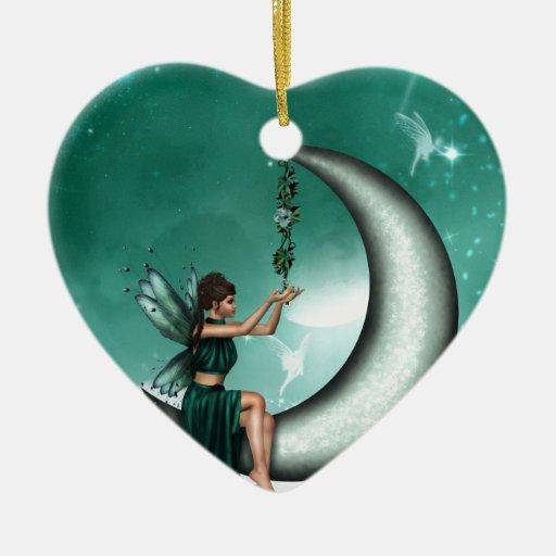 Wishing Moon Christmas Ornaments