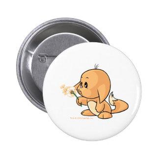 Wishing orange Kacheek 6 Cm Round Badge