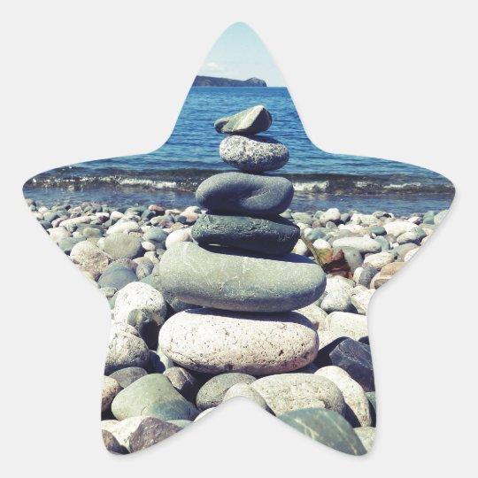 Wishing Rocks Star Sticker