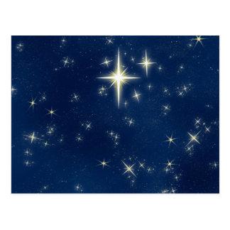 Wishing Star Postcard 5- Horizontal