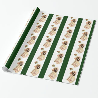 Wishing under the Mistletoe Wrapping Paper