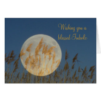 Wishing you a blessed Imbolc Card