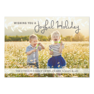 Wishing you a Joyful Holiday Card