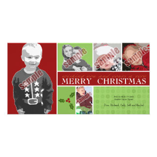 Wishing you and yours a very Merry Christmas Customized Photo Card