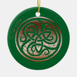 Wishing you Health- Slainte Christmas Ornament