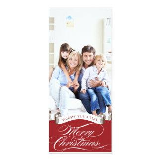 Wishing You... - Holiday Photo Card 10 Cm X 24 Cm Invitation Card