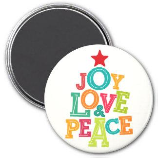 Wishing you Joy, Love & Peace this season! Magnet