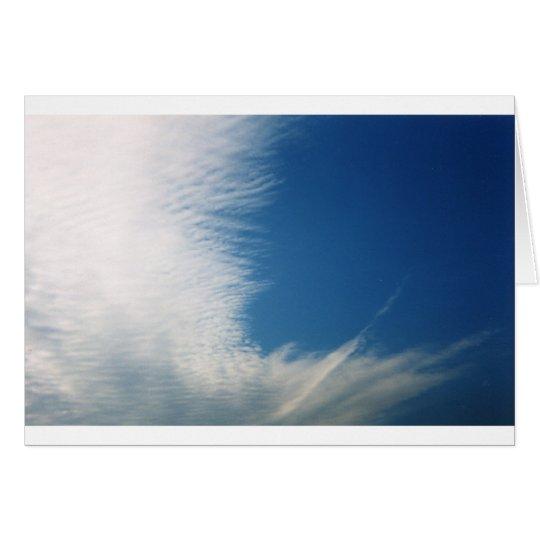 Wispy Clouds Card