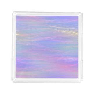 Wispy Rainbow Tray