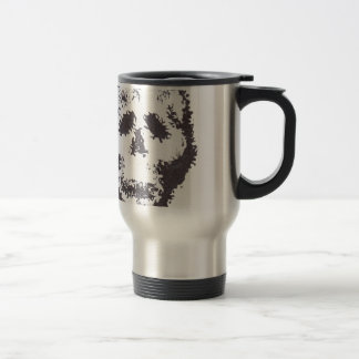 Wispy Skulls Stainless Steel Travel Mug