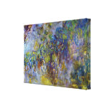 Wisteria by Claude Monet, Vintage Impressionism Canvas Print