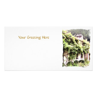 WISTERIA COTTAGE PHOTO GREETING CARD