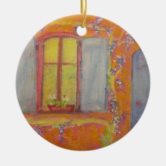 Wisteria Cottage provence france Christmas Ornament