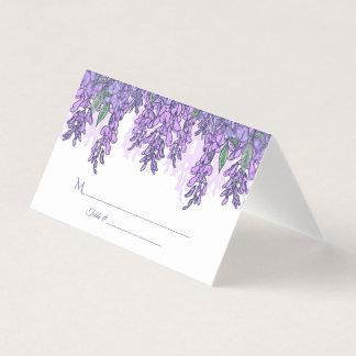 Wisteria Garden Wedding Reception Place Card