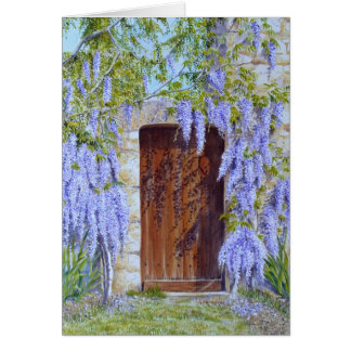 wisteria gate card