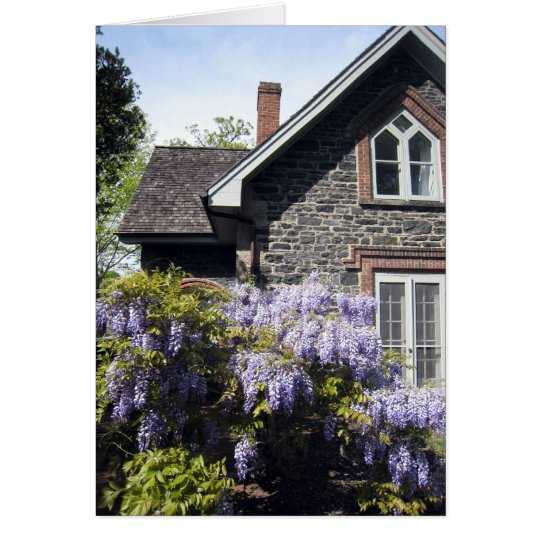 Wisteria House Card
